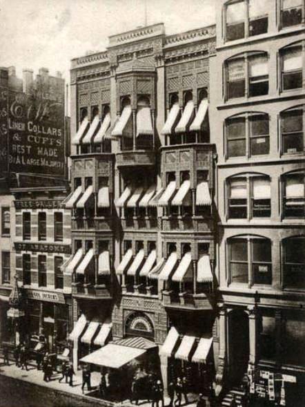 Kinsley's Restaurant, circa 1906