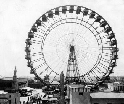 First Ferris Wheel